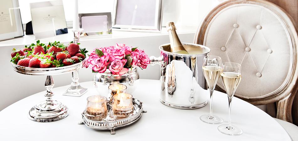 Matrimonio glamour con piccoli accessori