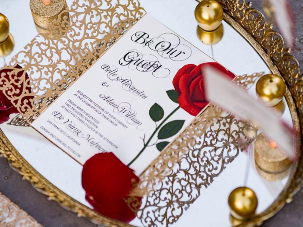 Partecipazioni Matrimonio Disney.Matrimonio A Tema La Bella E La Bestia Le Chicche Di Claudia