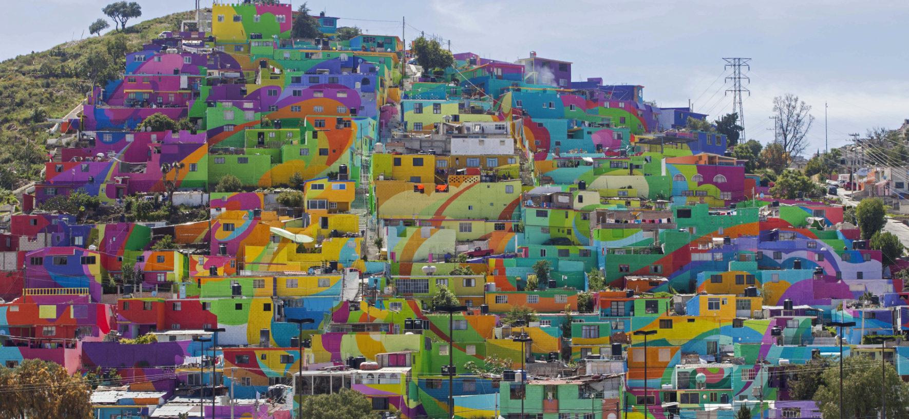Città colorate nel mondo