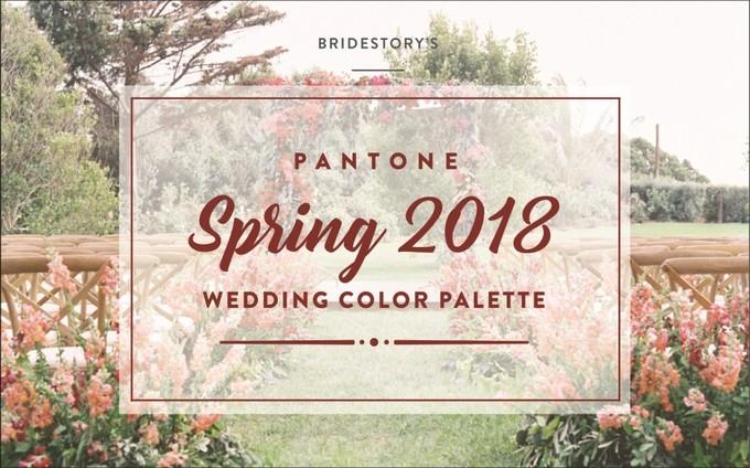 I Colori Pantone per i Matrimoni 2018