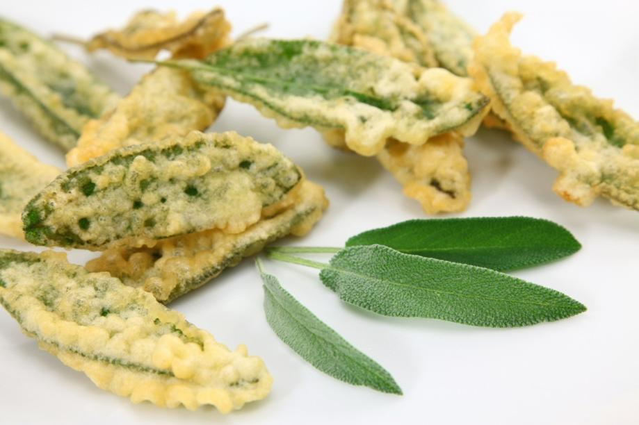Salvia fritta in pastella