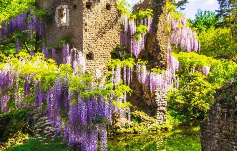 Il Giardino di Ninfa il più bello e romantico del mondo