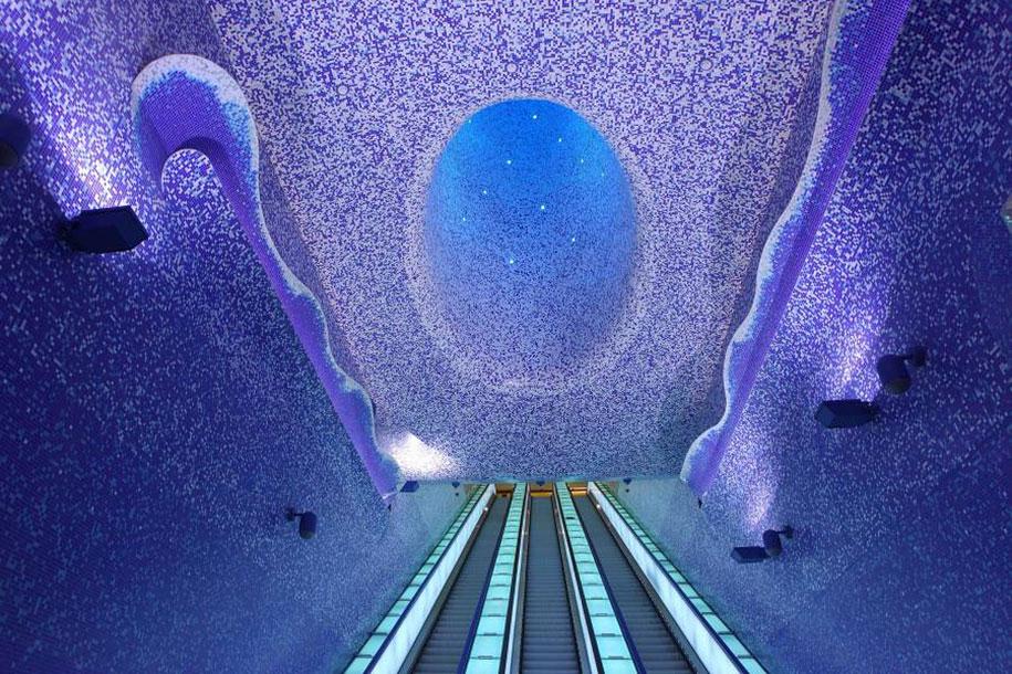Arte in metropolitana: le stazioni più belle del mondo