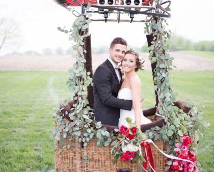 Matrimonio in mongolfiera