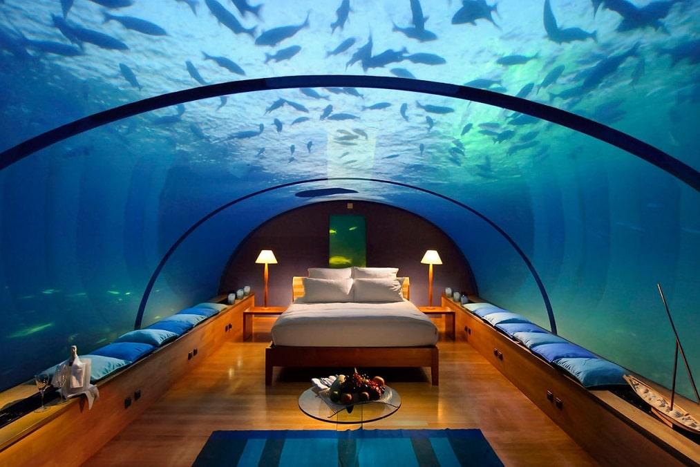 Resort sottomarini per una vacanza in fondo al mare