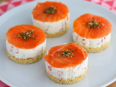 Mini Cheesecake al Salmone
