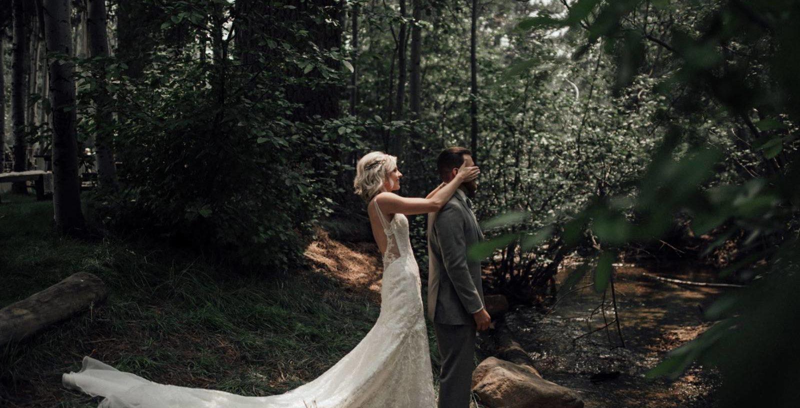 First look un momento magico nel giorno del matrimonio