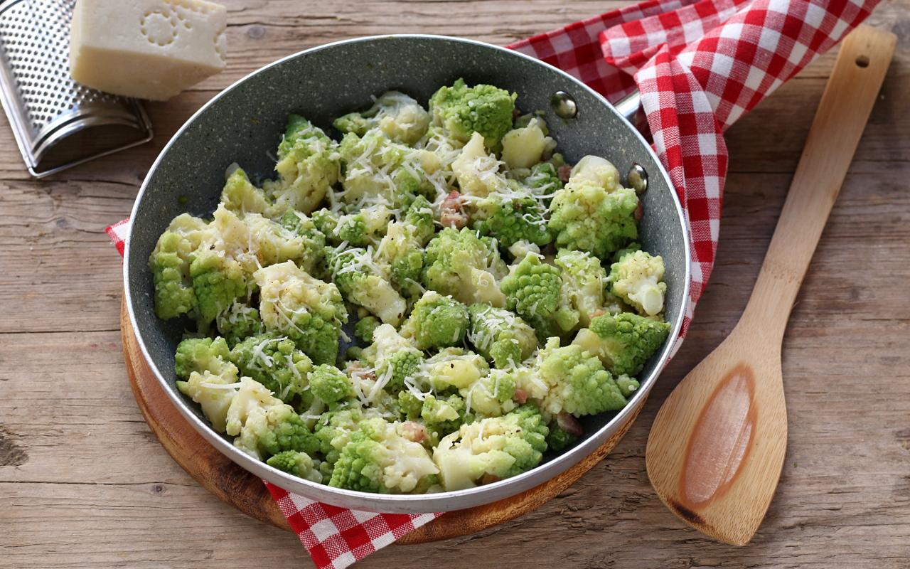 Broccolo Romano con guanciale