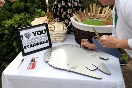 star wars guestbook