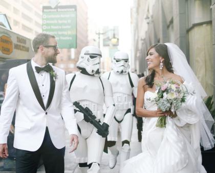 Matrimonio tema Star Wars: idee e ispirazioni per il grande giorno